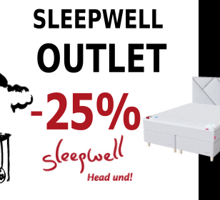 Sleepwell outlet soodsad madratsid voodid
